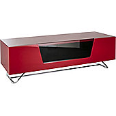 Alphason Chromium Red TV Stand for up to 60 inch TVs