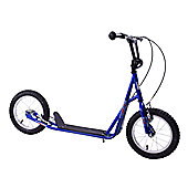 "Professional Jet Rockets 14"" Wheel Push Scooter Blue 4+"