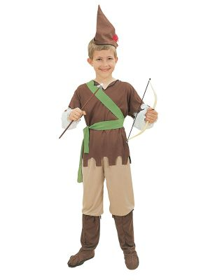 Robin Hood - Child Costume 4-6 years
