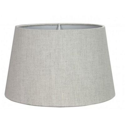 11 inch Linen Empire Lamp Shade Natural Dual Fitting