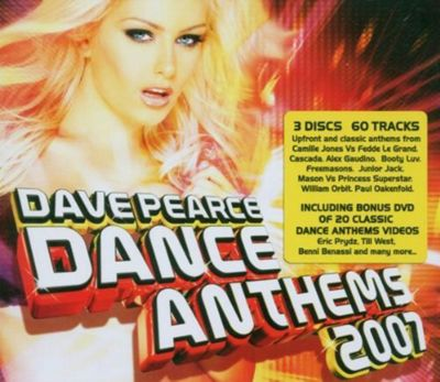 Dave Pearce Dance Anthems 2007 [2Cd + Dvd]