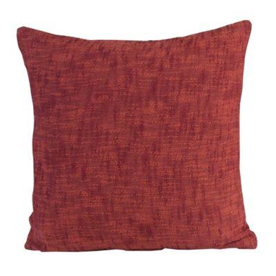 Homescapes Nirvana Cotton Orange Cushion Cover, 45 x 45 cm