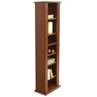 Techstyle CD / DVD / Video Media Storage Shelves - Narrow
