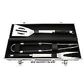 3 piece BBQ Tool Set with aluminium case