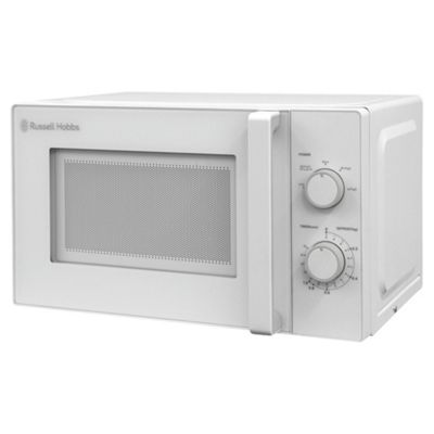 Russell Hobbs RHM2077, 20 Litre Manual Microwave, White