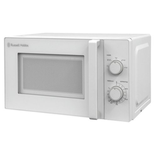 Russell Hobbs RHM2077 Solo Microwave, 20L - White