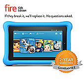 "Amazon Fire 7, 7"" Kids Edition Tablet, 16GB – Blue"