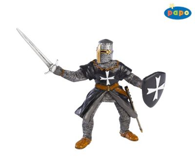 Hospitaller Knight With Sword - Knights - Papo