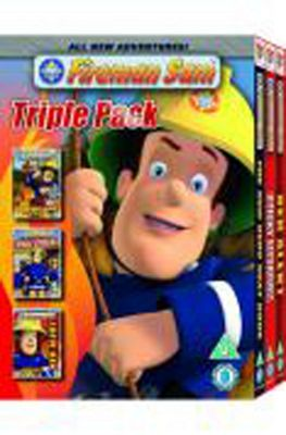 Fireman Sam, Triple Hero, Red Alert, Sticky Situation