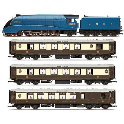 HORNBY Loco R3402 LNER Queen of Scots Train Pack - Limited Edition