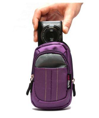 Purple Camera Case For The Panasonic Lumix DMC-SZ10