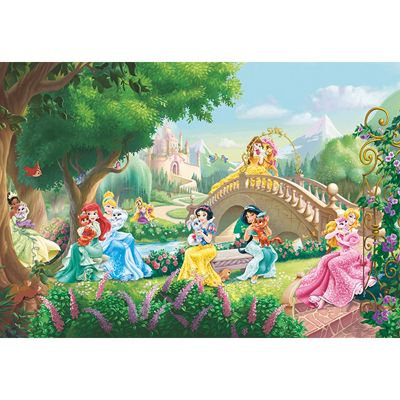 Disney Princess Princess Palace Pets Kids Wallpaper Mural 368 x 254cm