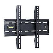 "VonHaus 15-42"" Fixed TV Wall Mount Bracket with Built-In Spirit Level"