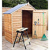 Windowless Overlap Apex Shed Garden Wooden Shed