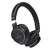 Audio Technica ATH-SR5BT Wireless On Ear High Resolution Audio Headphones (Black)