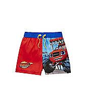 Nickelodeon Blaze and the Monster Machines Swim Shorts - Navy
