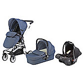 Baby Elegance Beep Twist Travel System - Denim