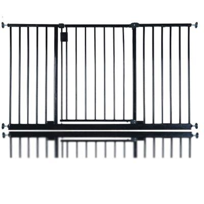 Safetots Extra Wide Hallway Gate Black 135cm - 140cm