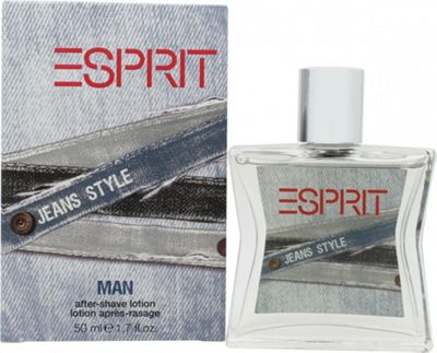 Esprit Jeans Style Aftershave 50ml Splash For Men