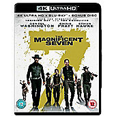The Magnificent Seven 4K Ultra HD - Blu-ray