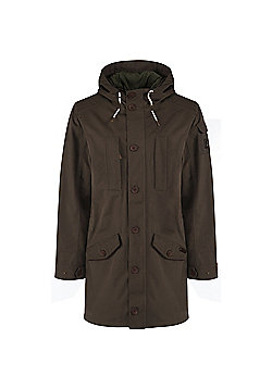 Craghoppers Mens 364 Hooded 3 in 1 Jacket - Khaki