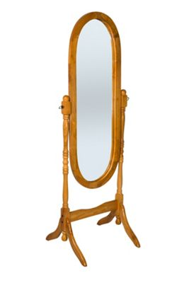 Chichester Cheval Full Length Mirror - Oak