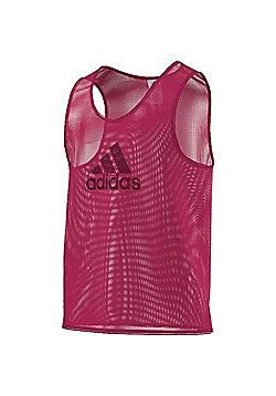 adidas Mesh Football Training Tank Top Sports Bib Various Colours - Berry