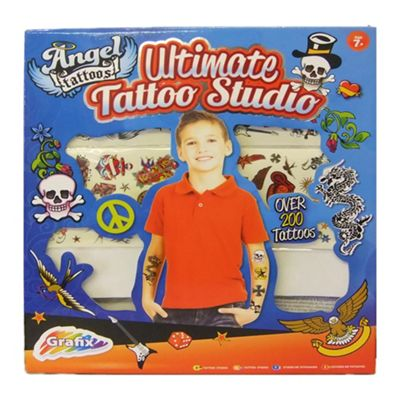 Grafix The Ultimate Tattoo Set Boys