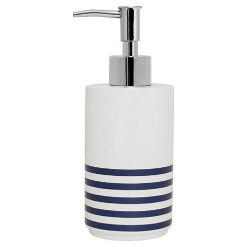 Harbour Stripe Soap Dispenser