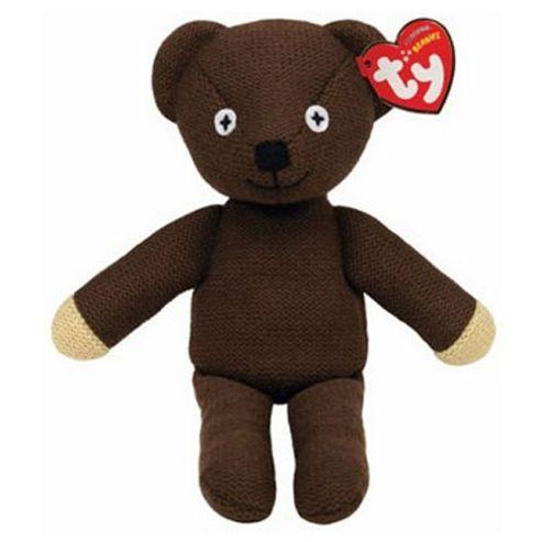 TY Beanies Mr Bean's Teddy 10 Original Beanies -