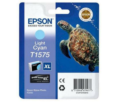 Epson Turtle T1575 Ink Cartridge - Light Cyan