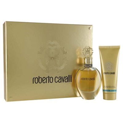 Roberto Cavalli Eau De Parfum 50ml & Body Lotion 75ml