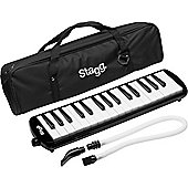 Stagg Melodica Reed Keyboard Black