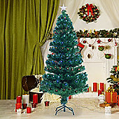 4ft Green Fibre Optic Artificial Christmas Tree