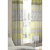 Catherine Lansfield Oriental Birds Eyelet Curtains - Multi