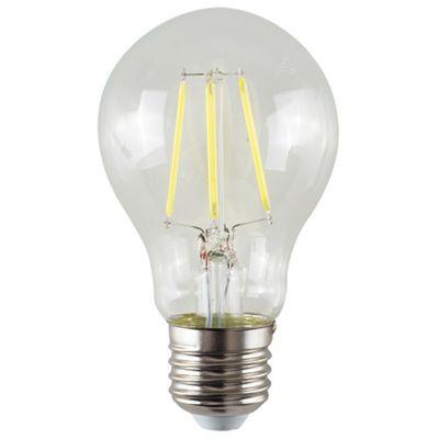 Vintage 4W LED Filament Clear GLS Lightbulb ES E27 - Cool White