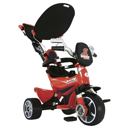 Injusa Body Trike Ride-On, Red