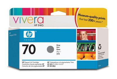 HP 70 Ink Cartridge - Grey
