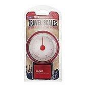 Globetrek Travel Scales, Red