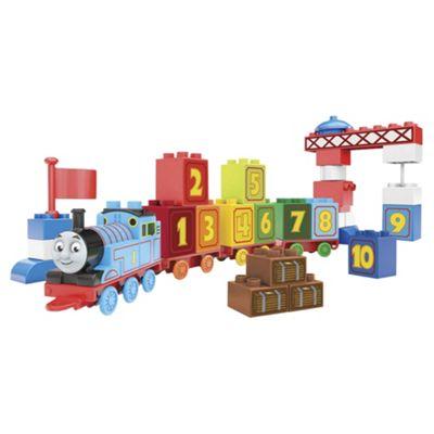 Mega Bloks Junior Builders Thomas & Friends 123 Learning Train Playset