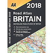 AA Road Atlas Britain: 2018