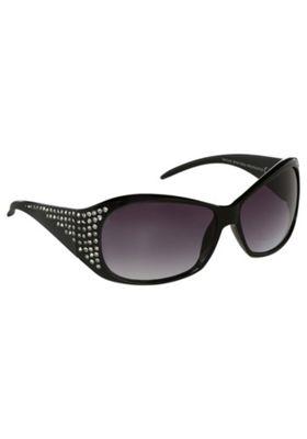 Foster Grant Diamant© Rectangular Sunglasses Black One Size
