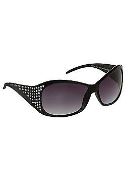 Foster Grant Diamant© Rectangular Sunglasses - Black