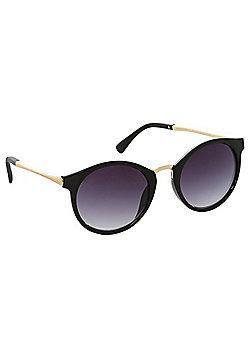 Foster Grant Oval Sunglasses - Black