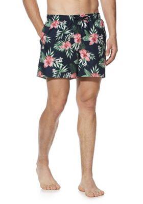 F&F Floral Swim Shorts Multi M