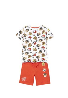 Nickelodeon Paw Patrol T-Shirt and Shorts Set Red 5-6 years