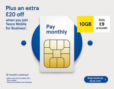 Business SIM offer