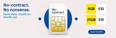 No-contract SIM