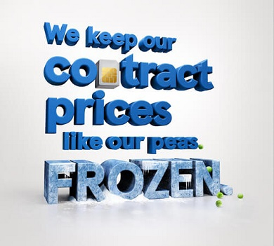 Frozen prices